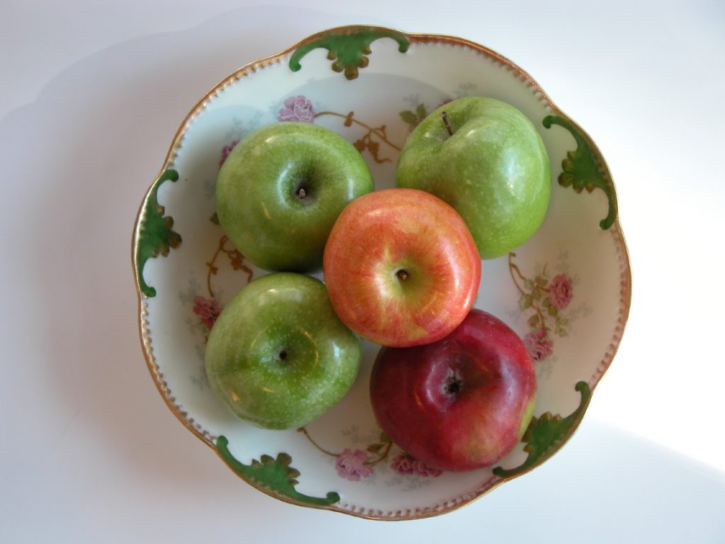 Limoges Bowl of Apples