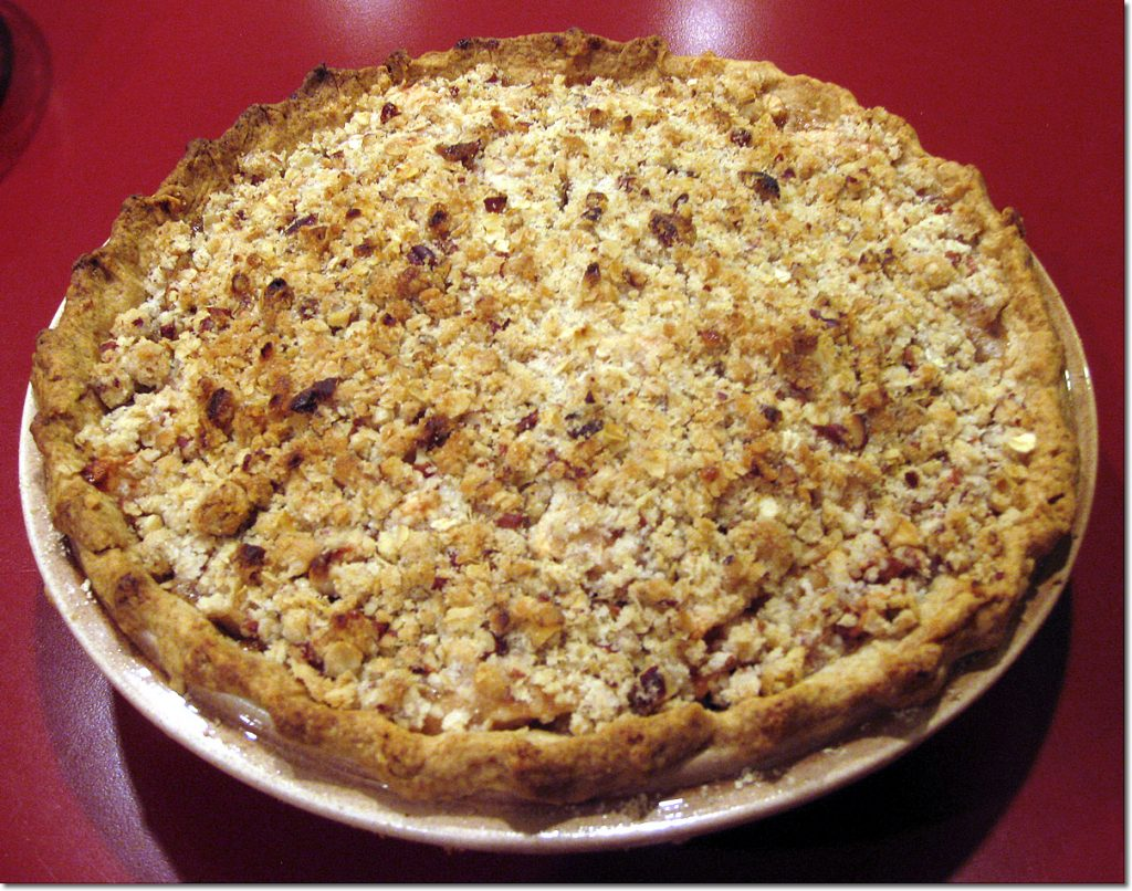 Apple-Cranberry-Walnut Pie