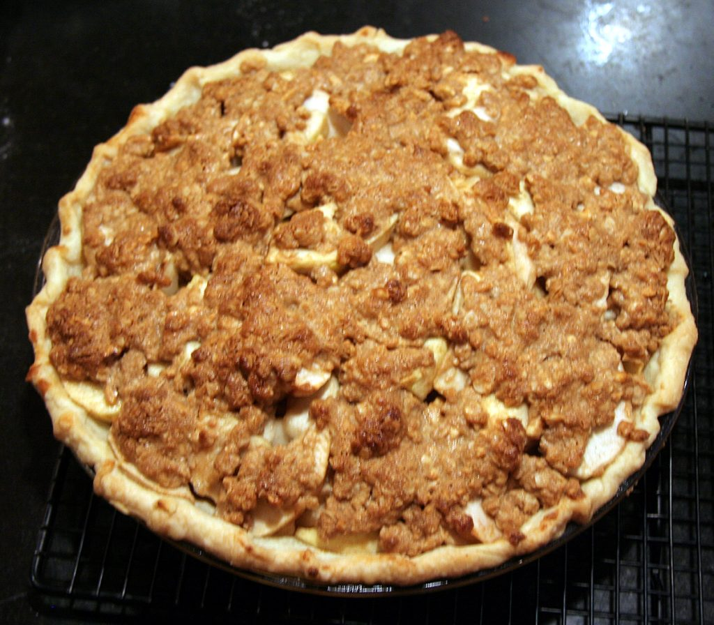 Apple Peanut Butter Pie