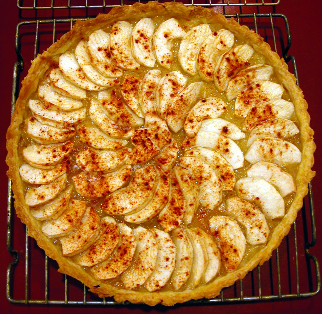 Fancy Apple Tart