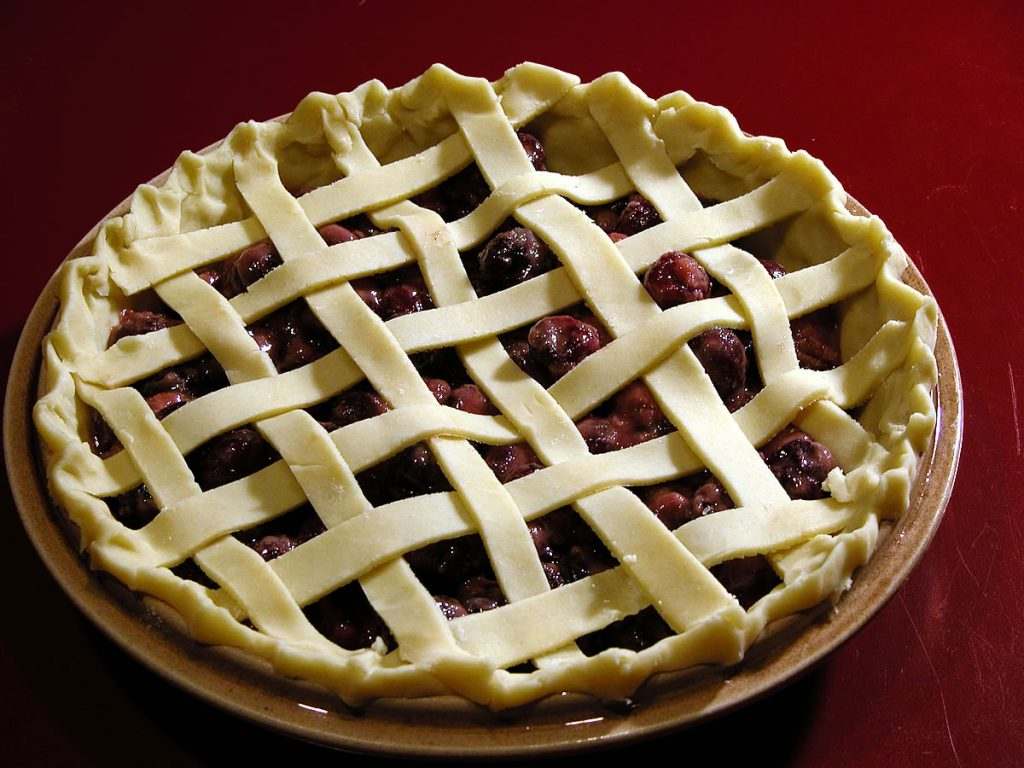 Cherry Pie, Lattice Top Crust