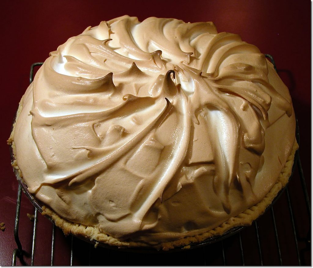 Meringue-Topped Pie