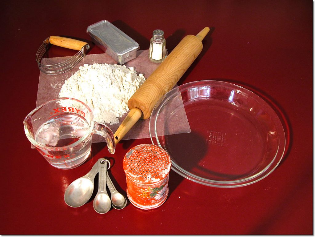 Shortening pie crust ingredients