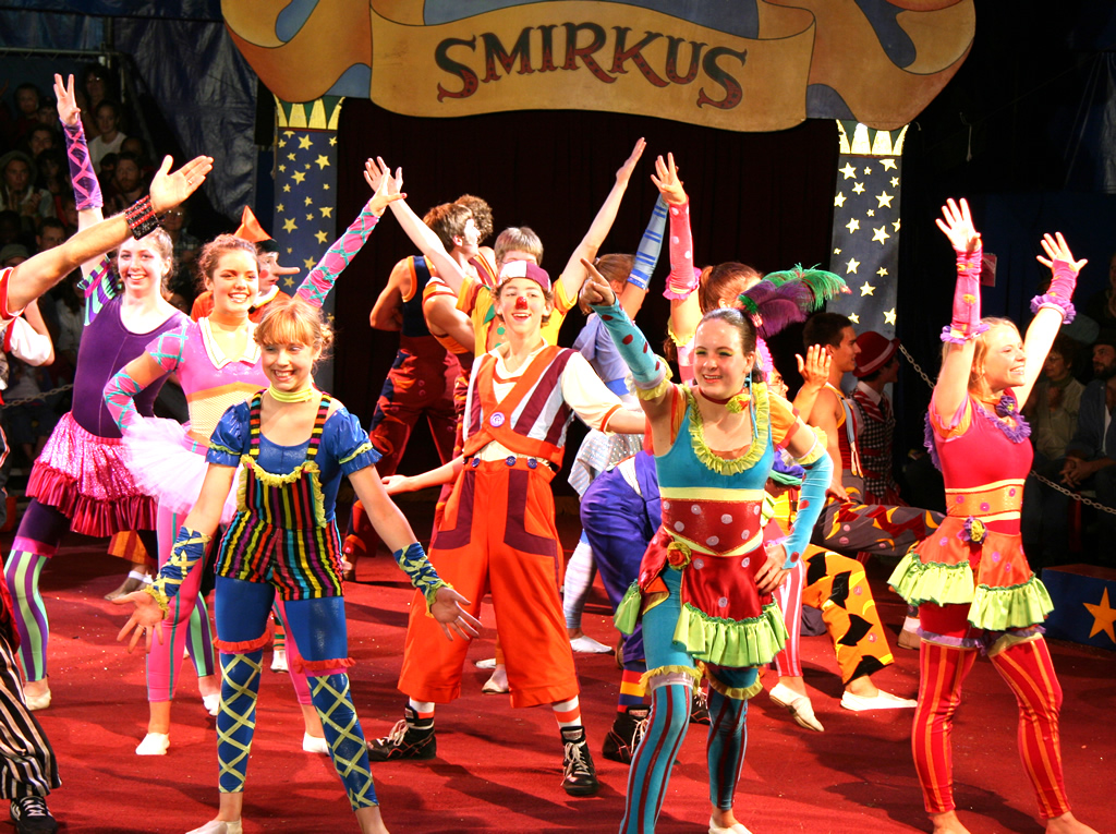 Circus Smirkus Big Top Tour