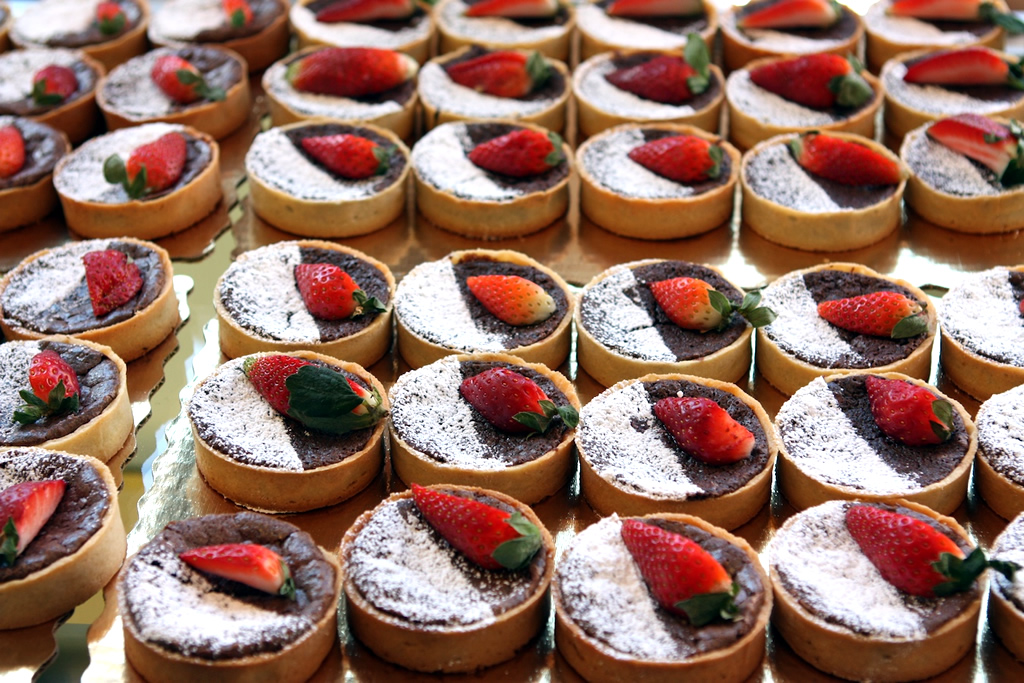 Strawberry Tarts, Rockland, Maine